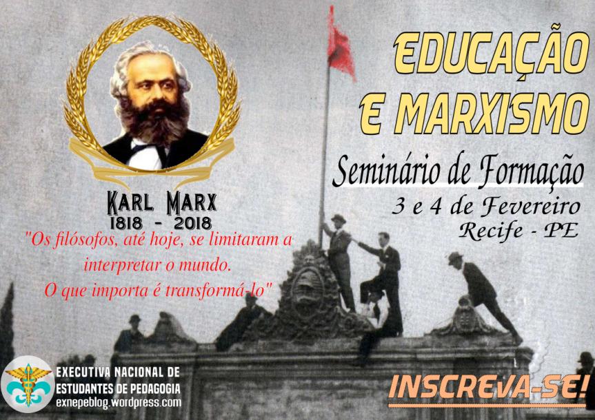 Seminário de Formação – Educação eMarxismo