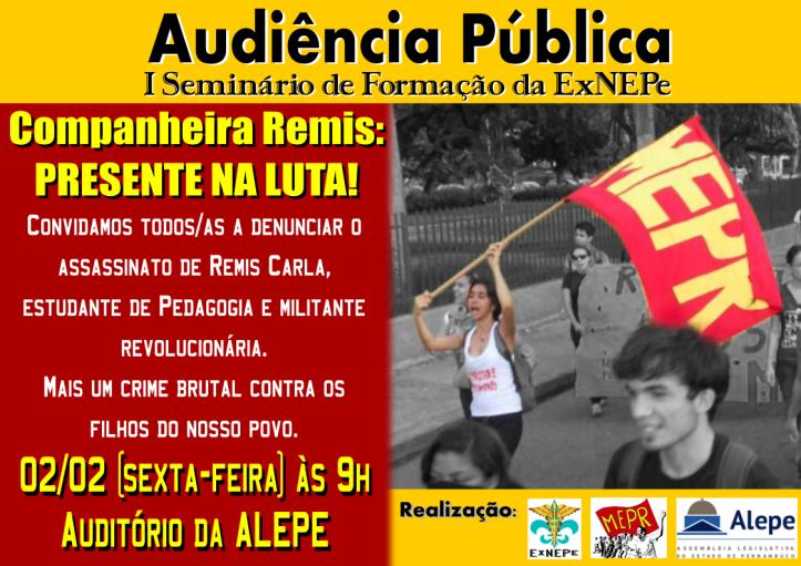 Cartaz Audiencia Remis2