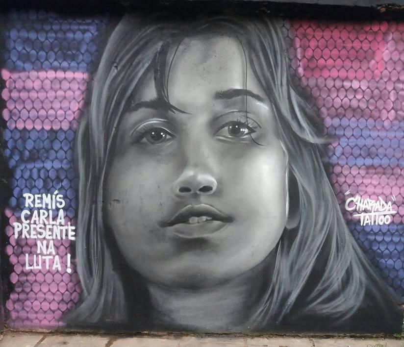 Homenagem do Coletivo Bagaço à companheiraRemís