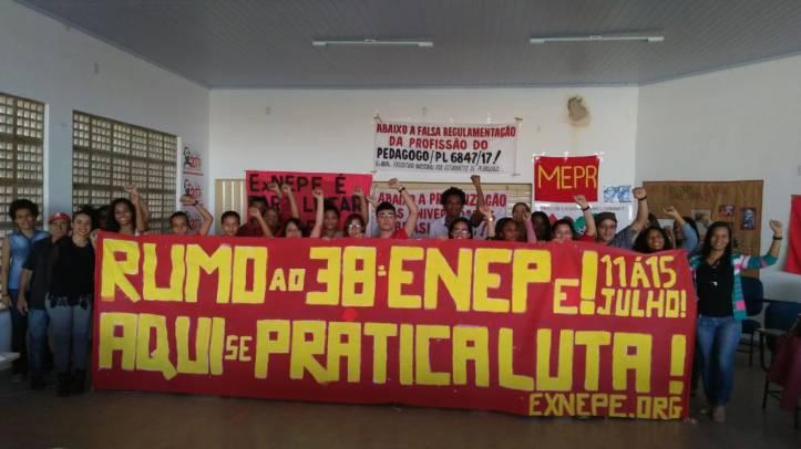 foto delegação ao 38 ENEPe